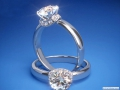 ES802 Round Diamond Chocker Engagement ring