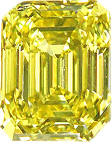 Fancy Intense Yellow 2.04 ct