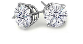 MDC Jewelry, Diamond Stud Earrings