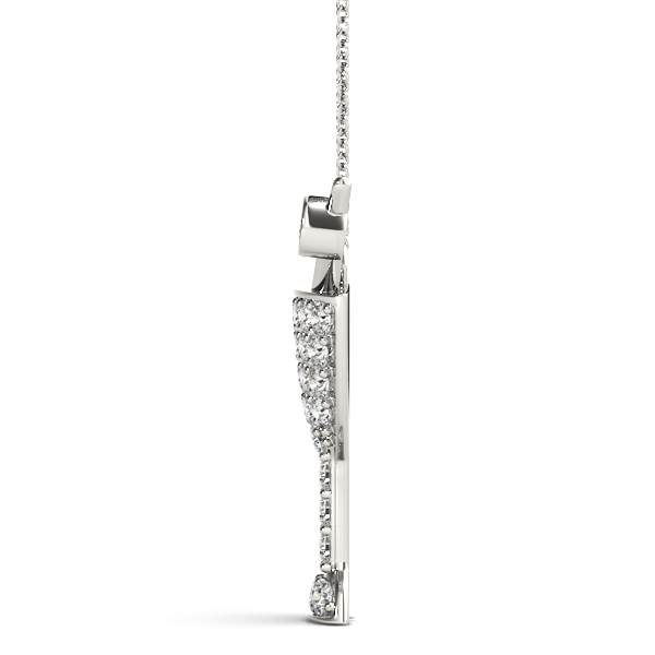 James Bond Martini Diamond Pendant