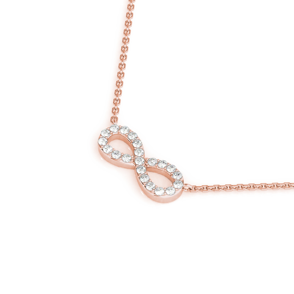 Infinity Pendant Rose Gold