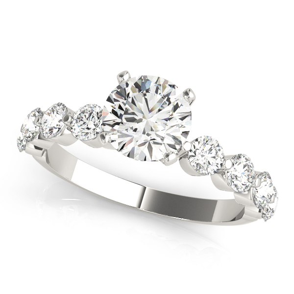 Mutual Prong Platinum Diamond Ring