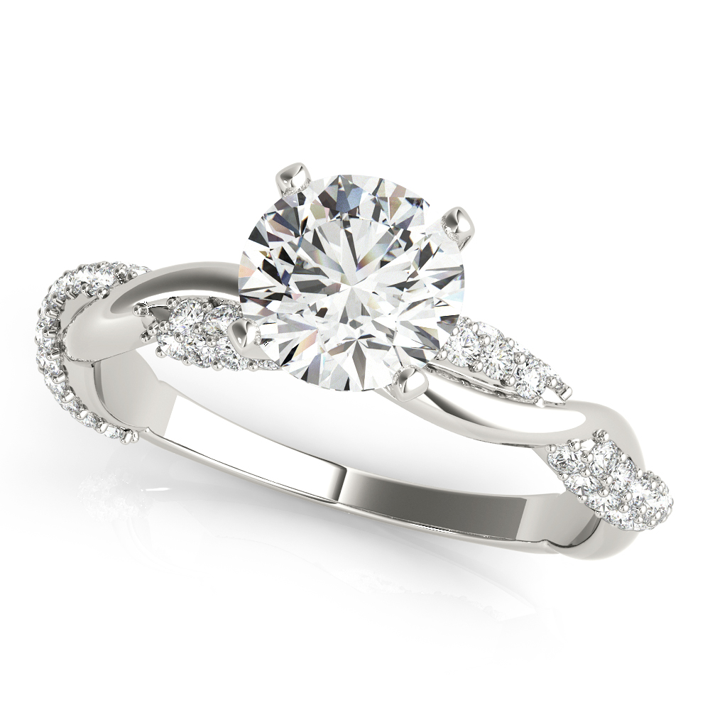 Etoil Infinity Diamond Engagement Ring