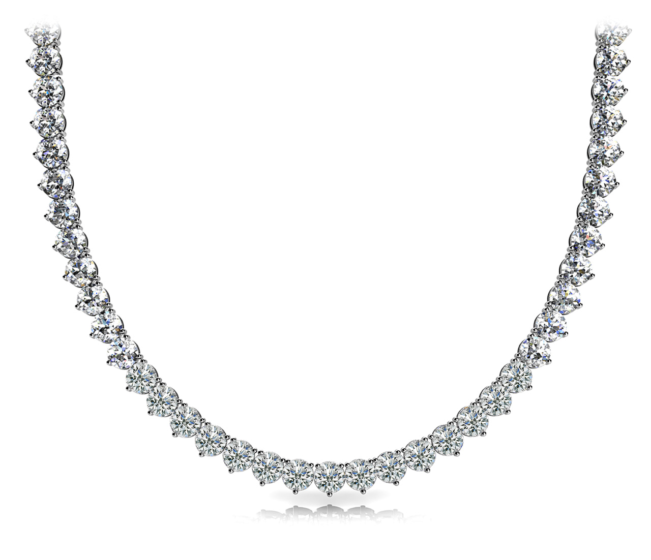 21.2 Carat Diamond Riviera Necklace