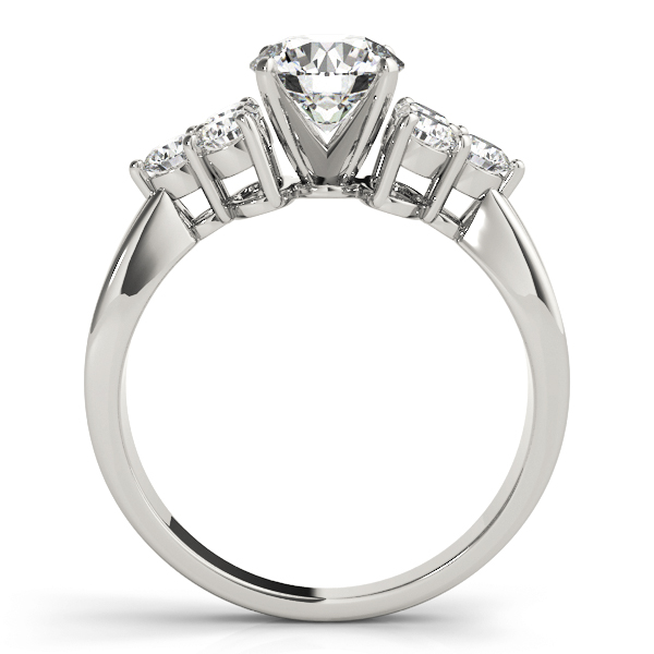 Trio Diamond Engagement Ring