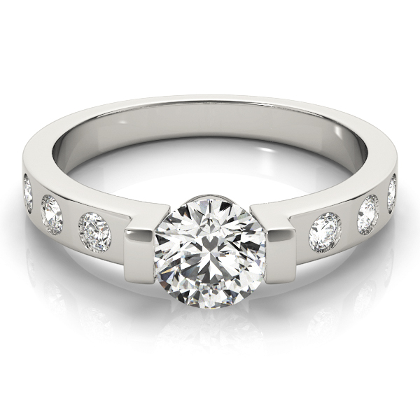 topic any low profile rings engagement