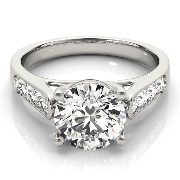Trellis Cathedrald Diamond Engagement Ring