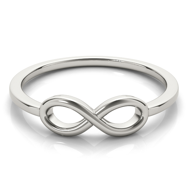 White Gold Infinity Ring