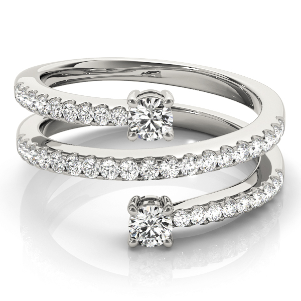 Spiral European Engagement Rings from MDC Diamonds NYC