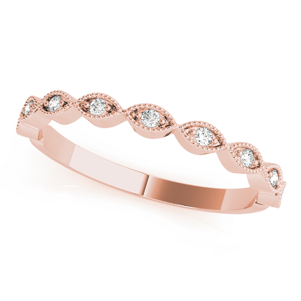 Petite Stackable Swing Band Rose Gold