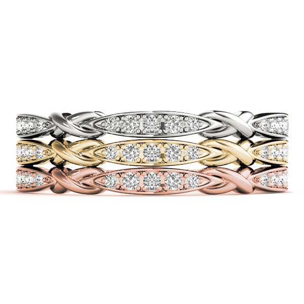 WB689Set Wedding Band