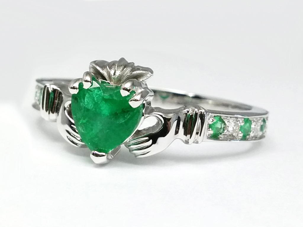 Claddagh European Engagement Rings From Mdc Diamonds Nyc