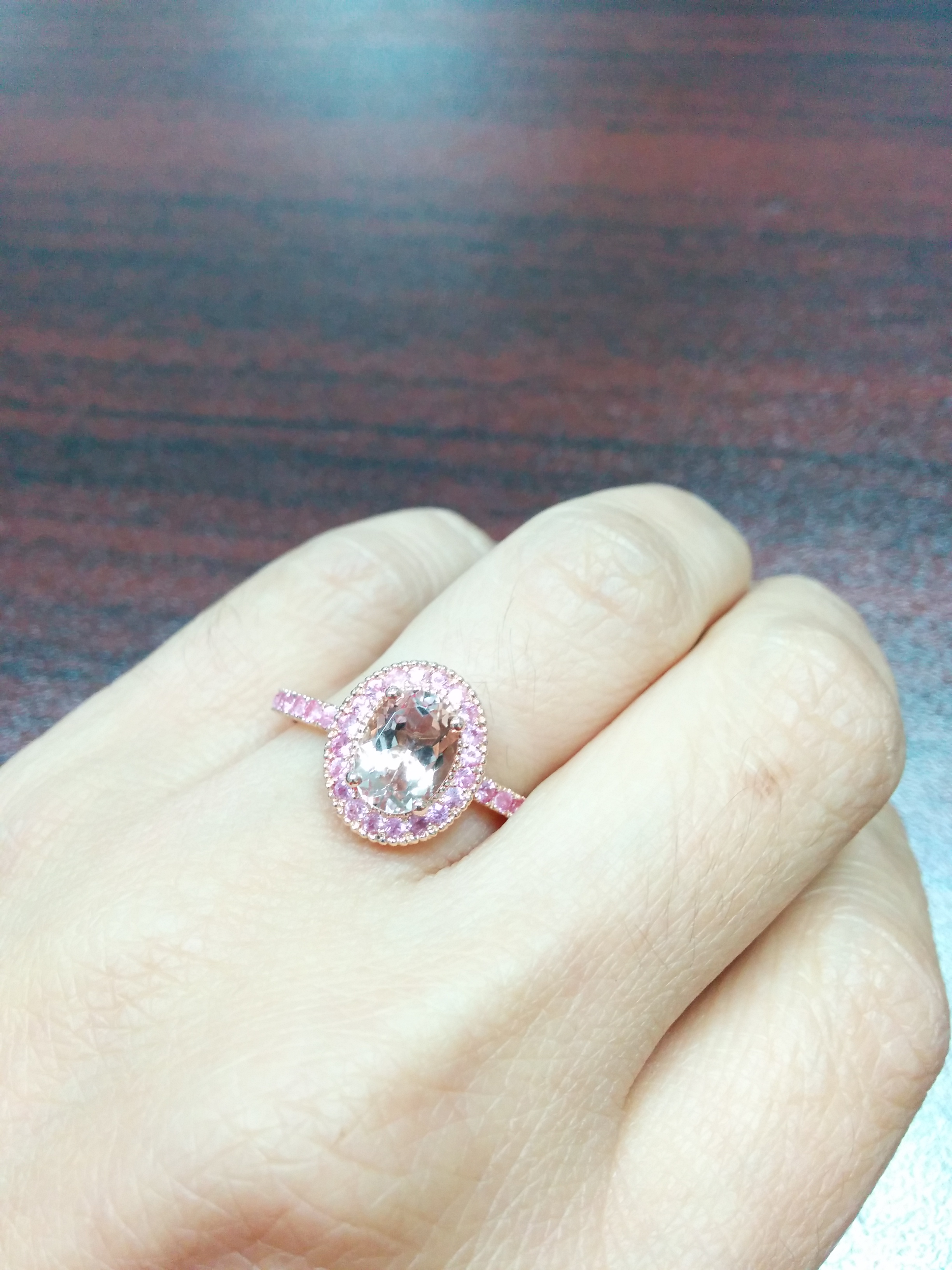 morganite but just considering topic me hope your helps post it wedding a long also show posting for ring rings the opinion i on engagement cleaned sorry anyone before