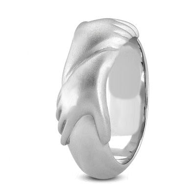 Supporting Hands Ring