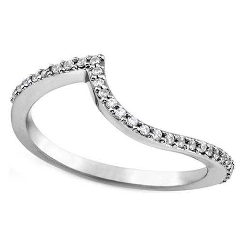 Engagement Ring Double Swirl Diamond Halo Engagement Ring Wrap