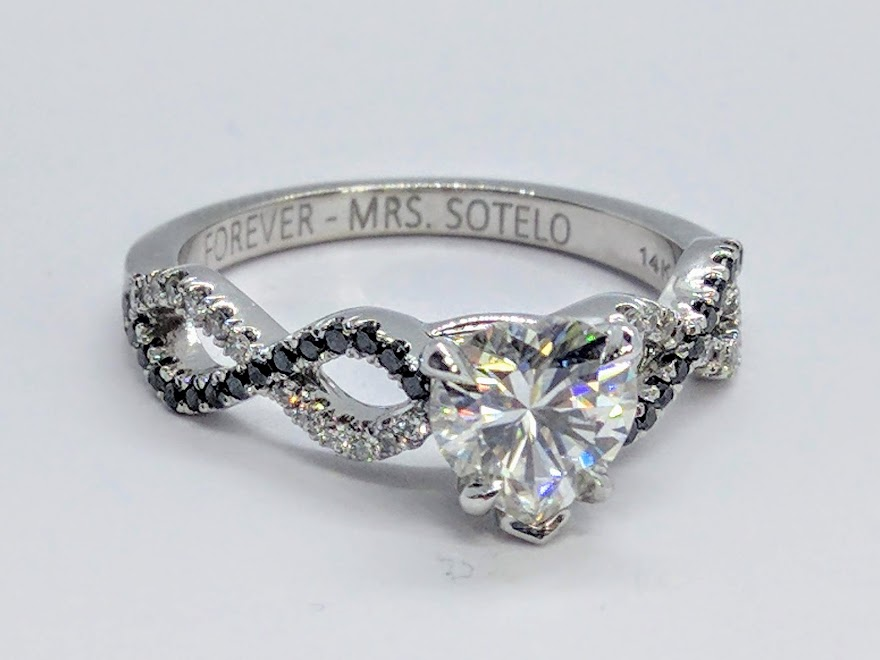 heart Engagement Rings from MDC Diamonds NYC