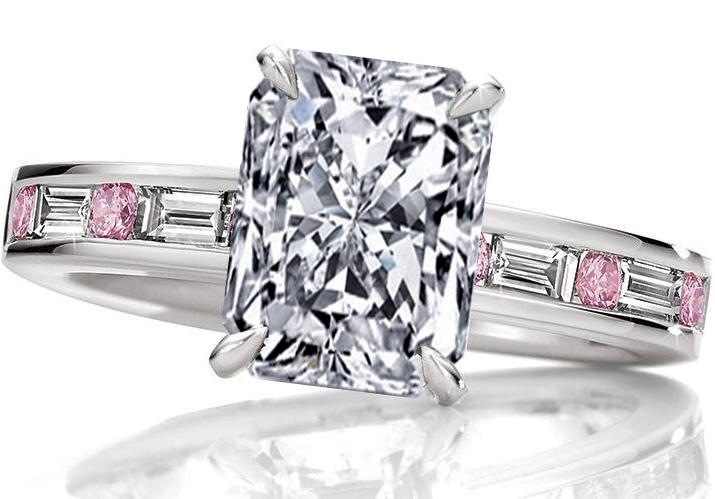 PinkDiamonds Engagement Rings from MDC Diamonds NYC