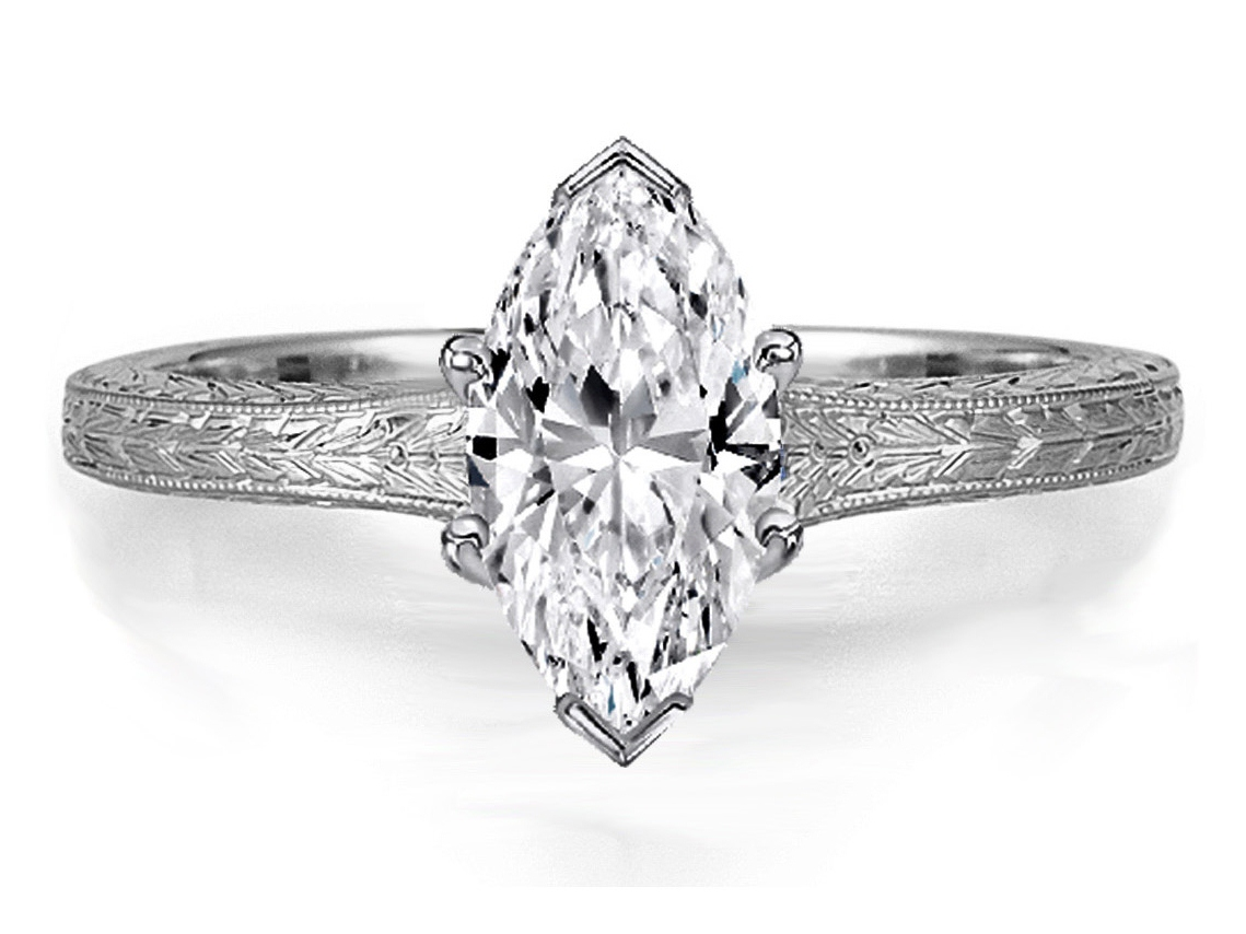 marquise engagement rings from mdc diamonds nyc. Black Bedroom Furniture Sets. Home Design Ideas