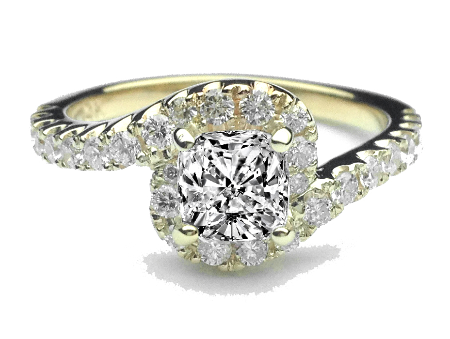swirl engagement rings from mdc diamonds nyc