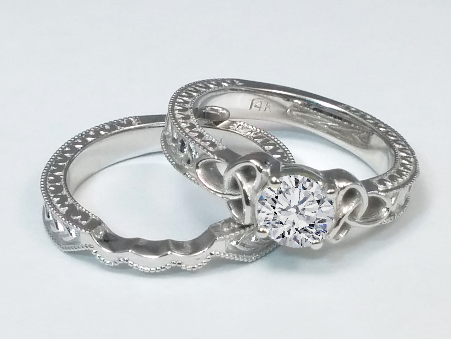 Pre Engagement Irish Rings