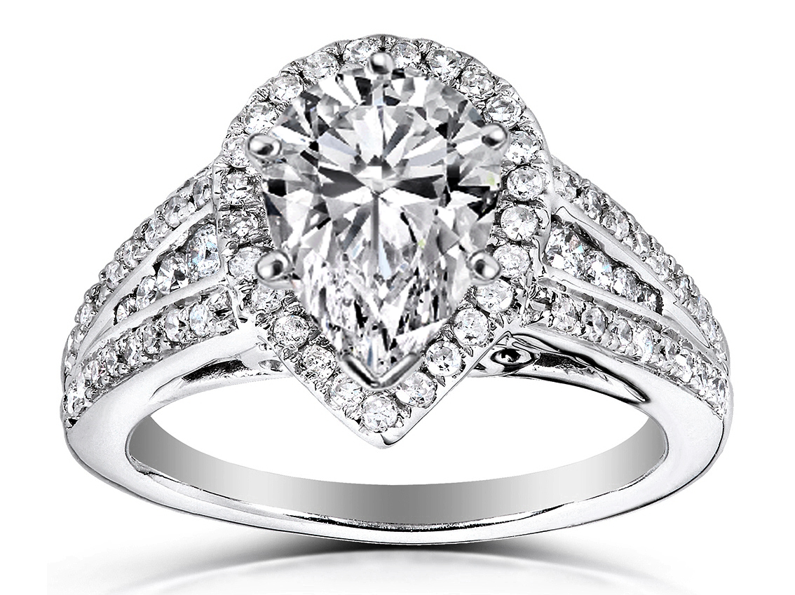 pear engagement rings from mdc diamonds nyc. Black Bedroom Furniture Sets. Home Design Ideas