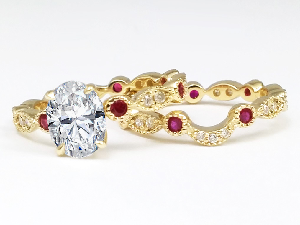 jewels diamond rings natural with solid rubies and rubysqdiamondring grade weight in carat gold accent gleam made top is ring handmade ruby accents studded carats engagement fine p