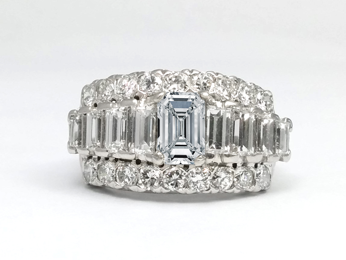 Baguette Engagement Rings From Mdc Diamonds Nyc