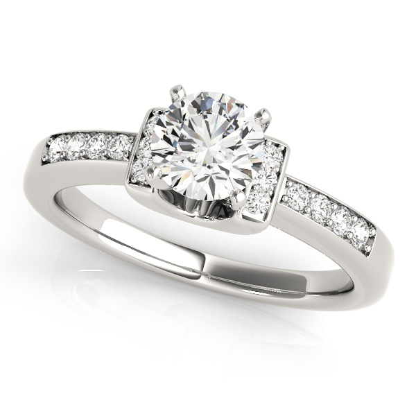 horseshoe Engagement Rings from MDC Diamonds NYC