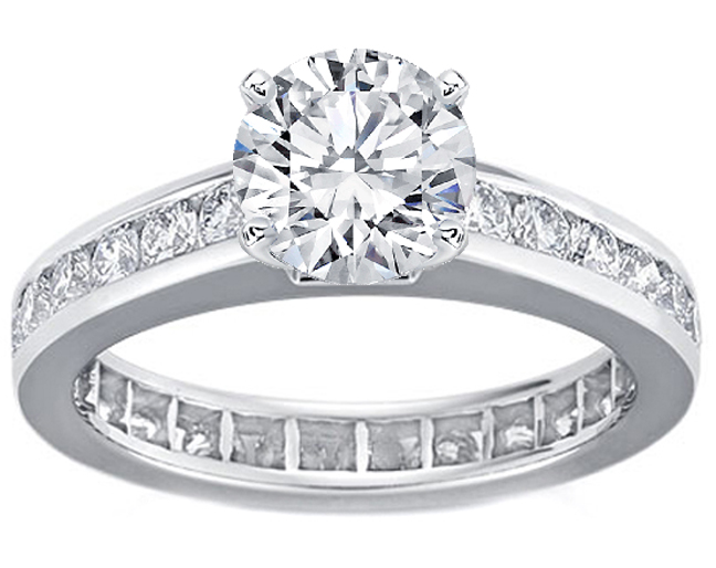 elegant knife edged scalloped prongs of features engagement six ring platinum claw that this