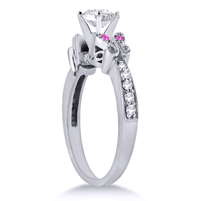 butterfly Engagement Rings from MDC Diamonds NYC