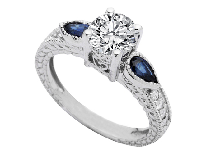 Heirloom Engagement Rings from MDC Diamonds NYC