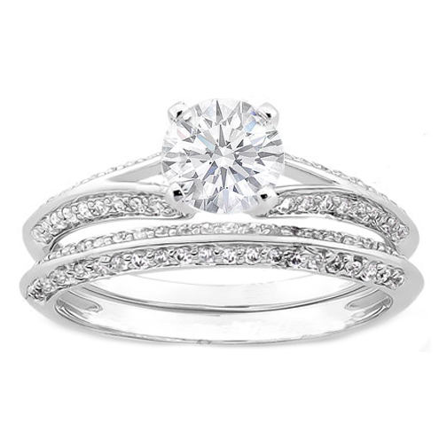 engagement ring knife edge engagement ring and