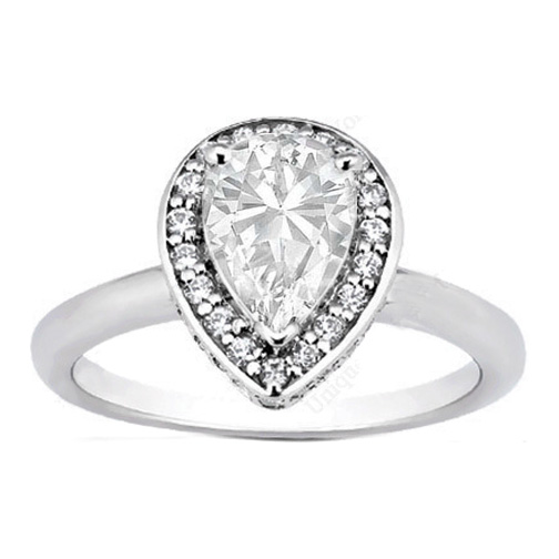 reply - Pear Shaped Wedding Ring