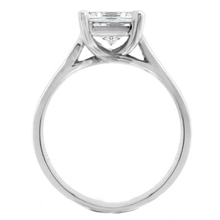 solitaire shank six prong d rings moissanite ch engagement p trellis fine ring