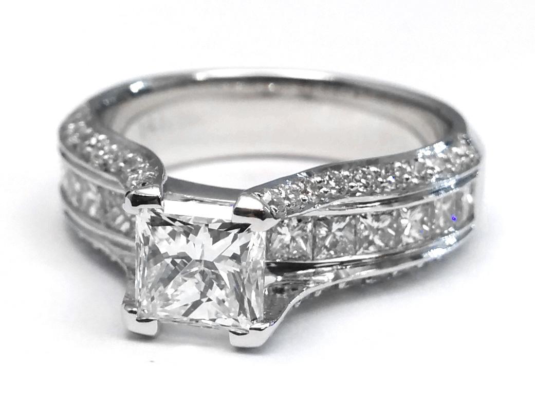 bridge Engagement Rings from MDC Diamonds NYC