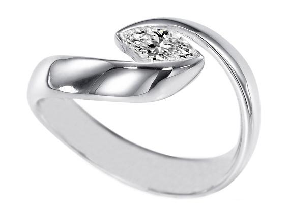Wedding Ring Mounts 61 Ideal Marquise diamond ring horizontal