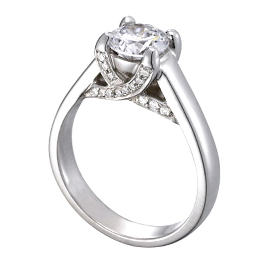 trellis three with diamonds white stone gold diamond engagement trilogy w rings ring carat product r pave b in pav