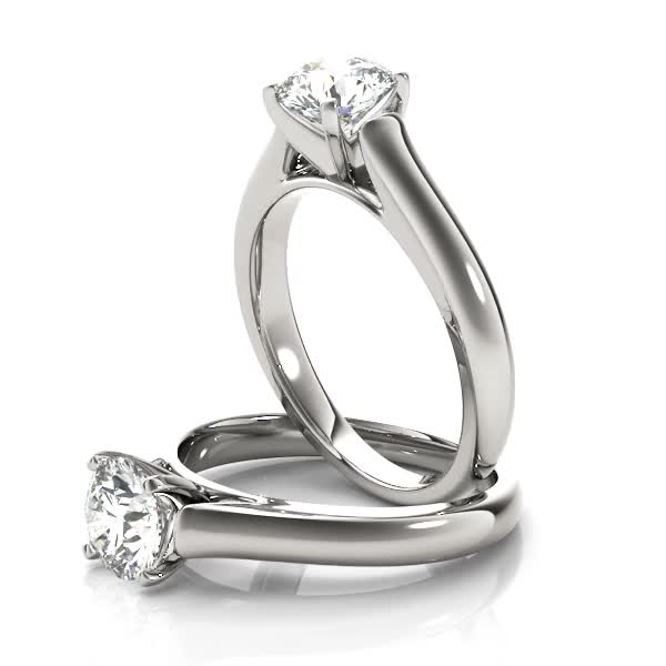 Classic Cathedral Engagement Ring