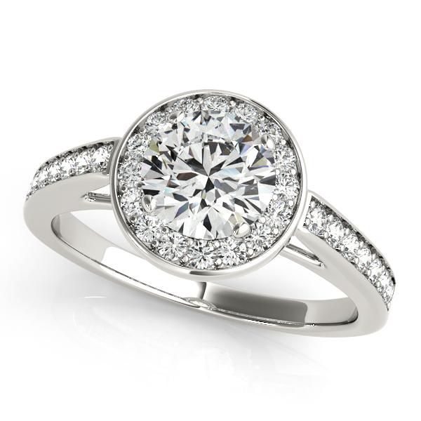 Engagement Ring Embrace Halo Diamond Engagement Ring ES759