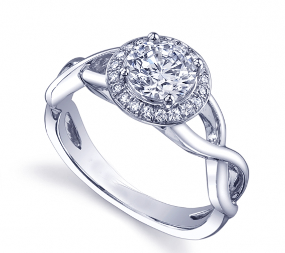 engagement ring halo engagement ring infinity