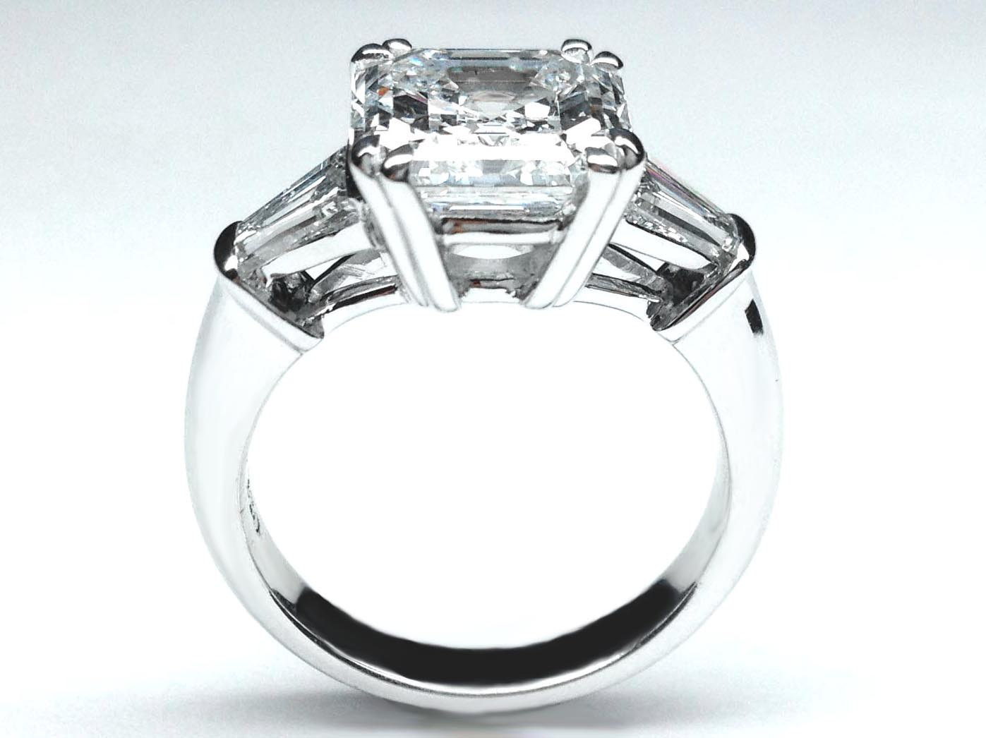 Asscher Engagement Rings From Mdc Diamonds Nyc