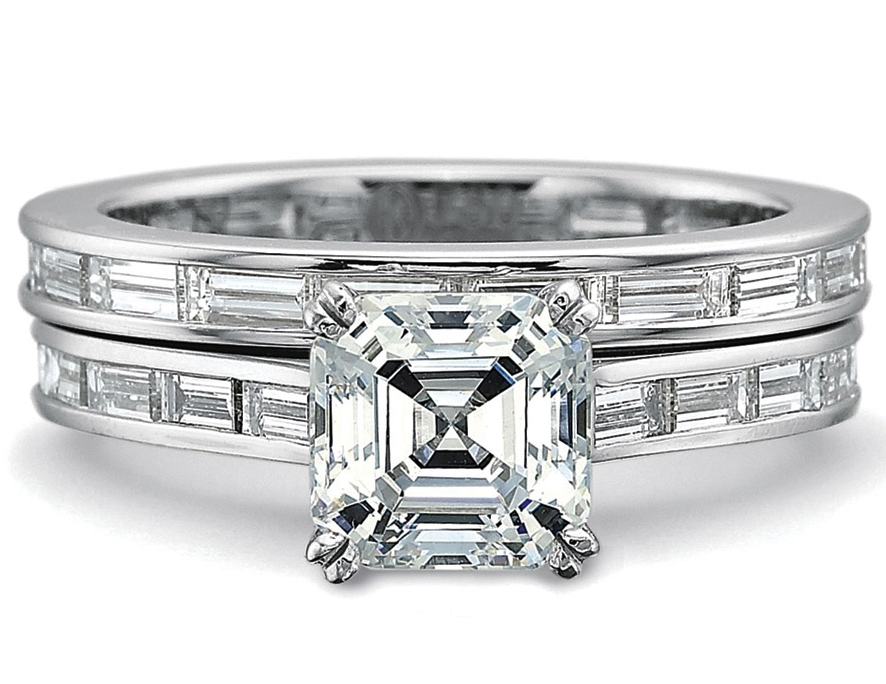 rings danhov engagement jewelers greenwich wedding st baguette setting ring diamond