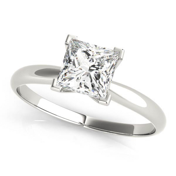 Classic Solitaire Princes Engagement Ring