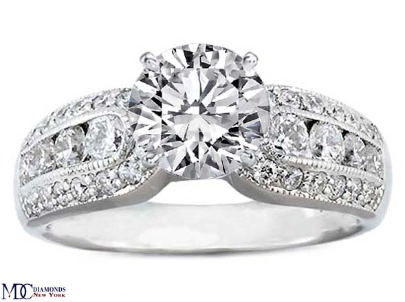 horseshoe wedding rings engagement ring shoe engagement ring 0 80 4851