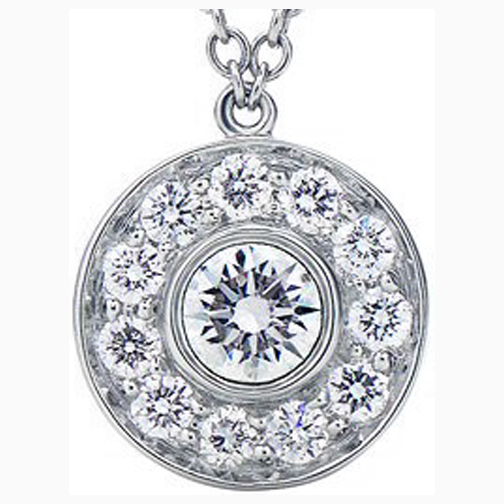 Circle of love necklaces and pendants from mdc diamonds nyc circle of love diamond pendant 030 tcw aloadofball Images