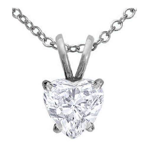 Necklaces and pendants heart shape diamond pendant necklace 070 necklaces and pendants heart shape diamond pendant necklace 070 carat in 14 karat white gold pd2wg aloadofball Image collections