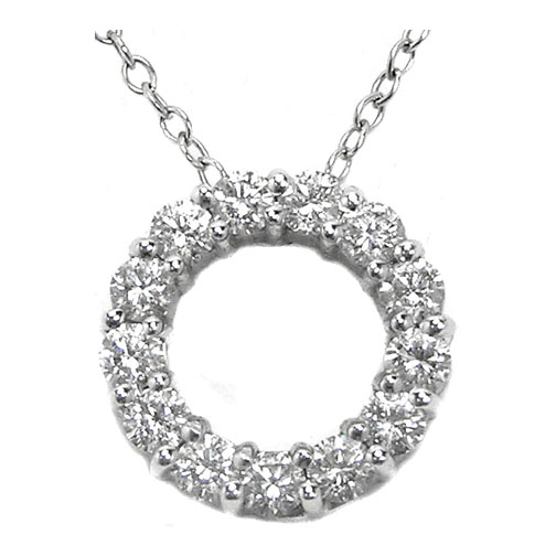 Circle Of Life Pendant Necklaces and pendants circle of life diamond pendant 091 carat circle of life diamond pendant 091 carat tw in 14k white gold audiocablefo