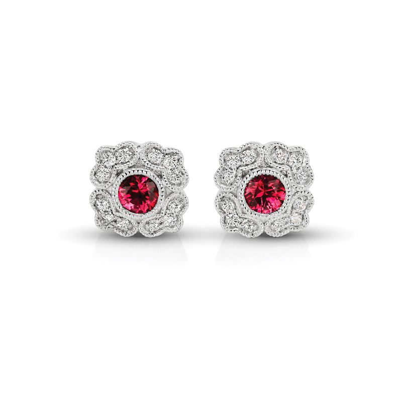FEA34RU Diamond Earring