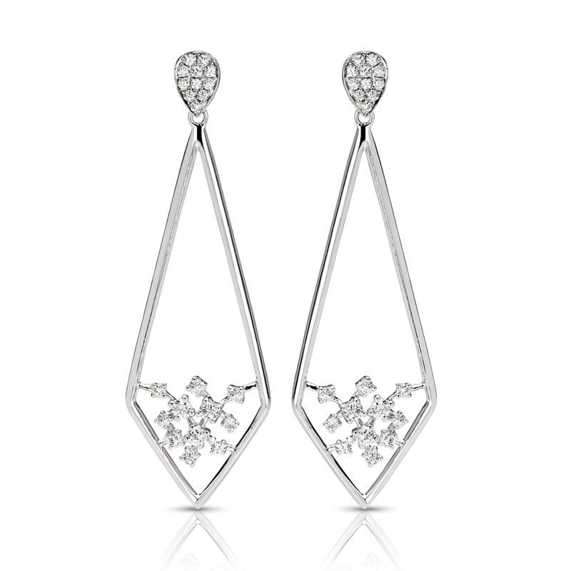 FEA53 Diamond Earring