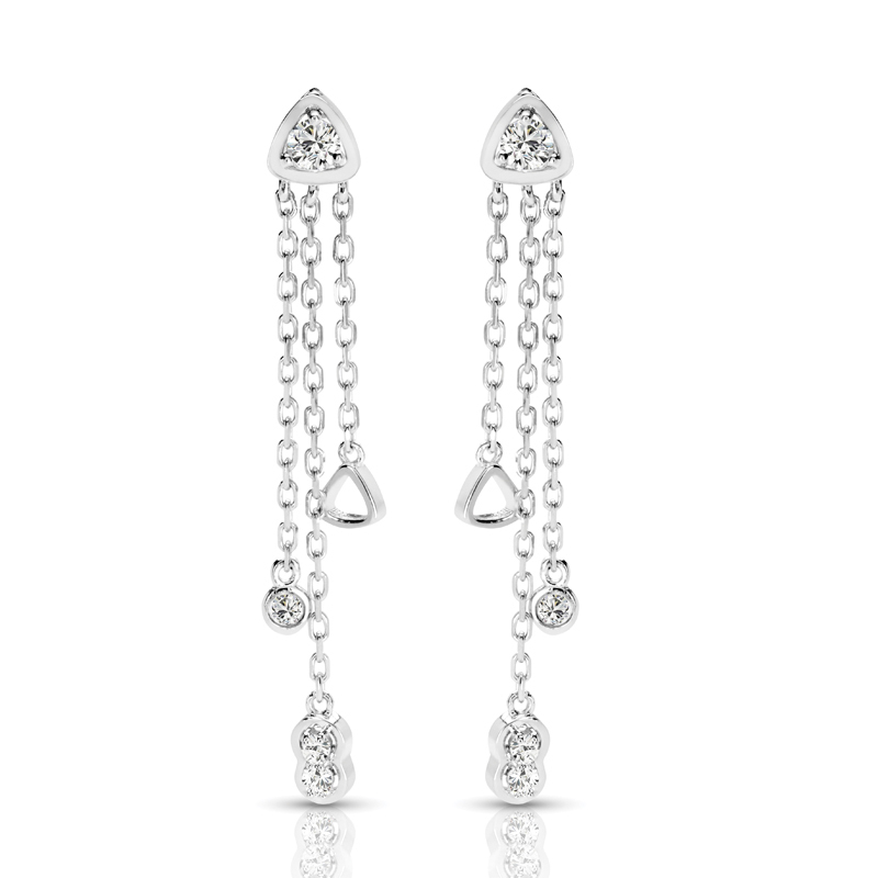 FEA50 Diamond Earring